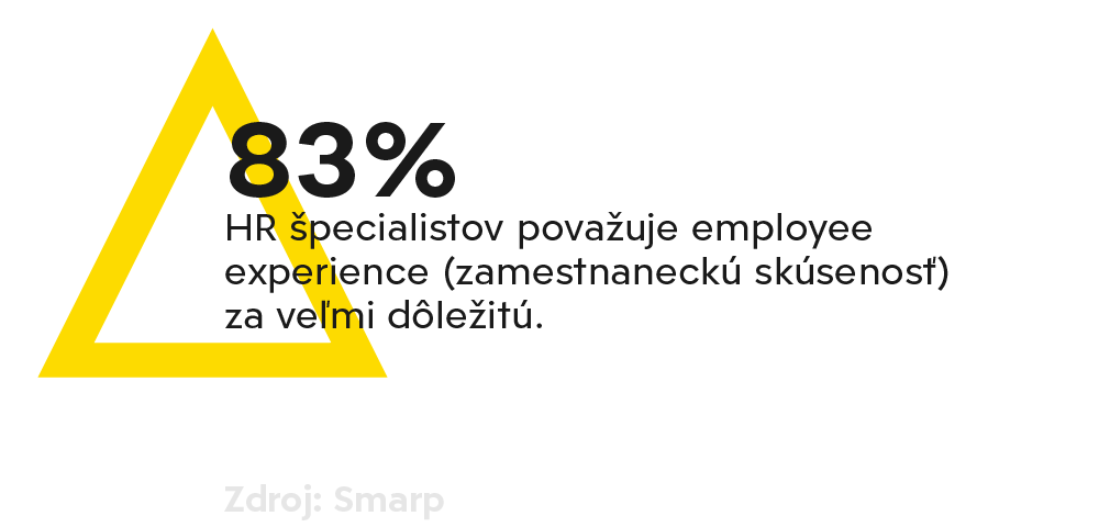 Interná komunikácia - employee experience (zamestnanecká skúsenosť)