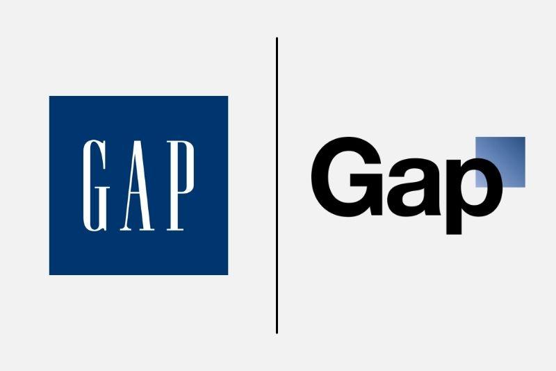 redizajn loga GAP