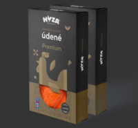 Hyza brand identity - packaging case study