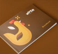 Hyza brand strategy - brandbook cover