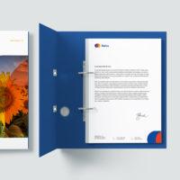 BELBA - Budovanie značky - vizuálna identita folder
