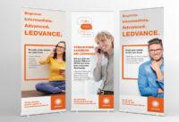 Employer branding Ledvance kariérny rollup